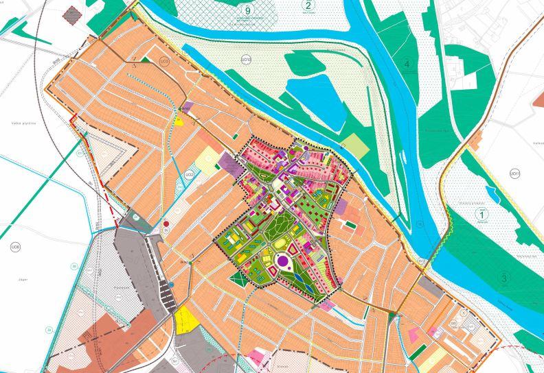 Városfejlesztési terv Gúta